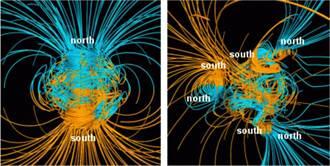 連鎖大停電甚至無法居住!地球磁極可能快顛倒