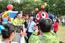 趙天麟、林智鴻不打傳統選戰 辦親子藝文爭取支持