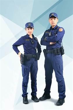 警察將換新制服  蔡英文直呼帥氣