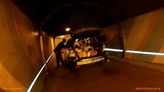 「命中註定來救你!」 警救辛亥隧道燒炭運將