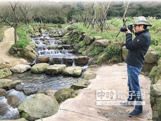 陽明溪步道 林相豐富