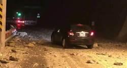 花蓮地牛連7翻身 蘇花公路多處落石未影響正常通行