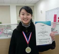 亮眼!二信高中李盈瑩勇奪全國英聽賽亞軍