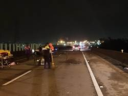 台66線2車輛撞擊猛烈 1男當場慘死