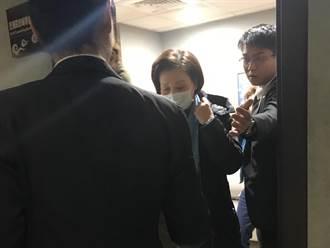 「乾爸」移靈二殯 「乾媽」憔悴現身還貼心慰問記者