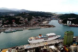 基隆港復甦 貨櫃量、郵輪客逐年攀升