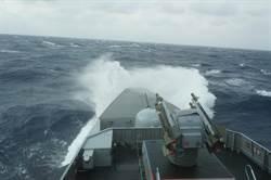 海軍康定艦趕往蘭嶼搜救失聯直升機