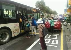 中市科技執法!公車停靠區違停播音影像舉發