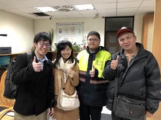 台灣最美的風景還是人! 暖警助日籍夫妻找回手機
