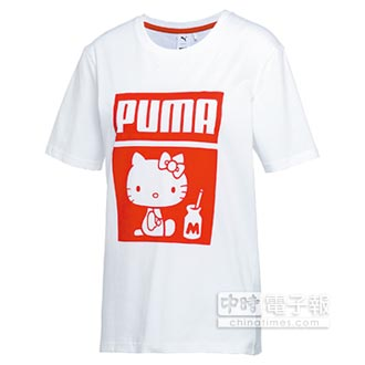 PUMA攜手Hello Kitty 限量鞋服男孩也瘋狂