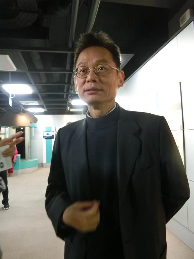 氣象局地震測報中心代理主任陳國昌強調,地震目前仍無法預測。(曹婷婷攝)