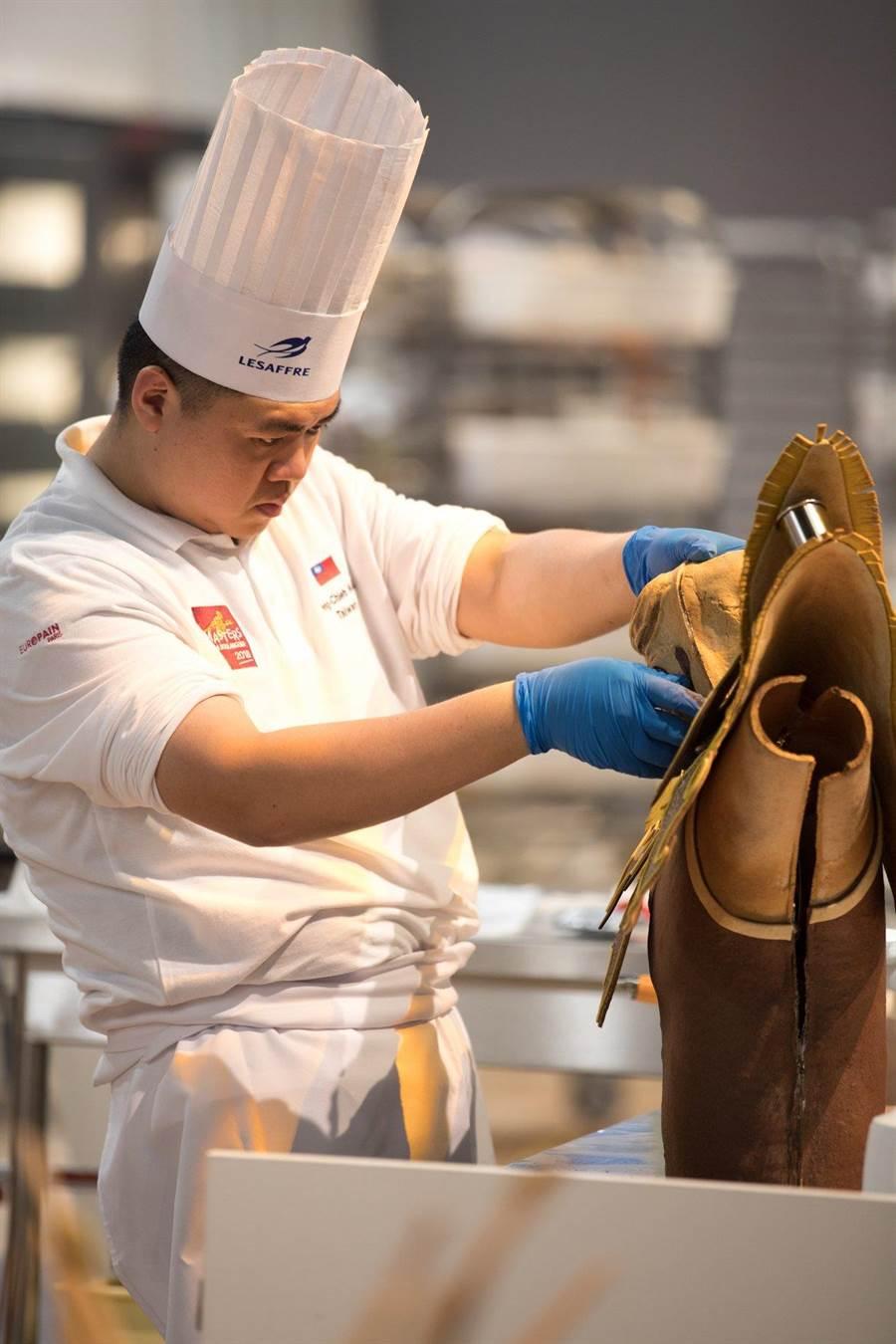 台灣烘焙師傅王鵬傑,勇奪世界麵包冠軍。(翻攝Masters de la Boulangerie臉書)