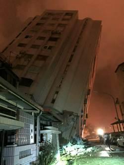 花蓮強震釀巨災 中市特搜隊星夜救援