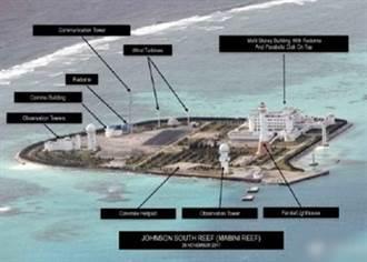 大陸永暑礁諸島最新照曝光  菲媒:海空軍基地成形