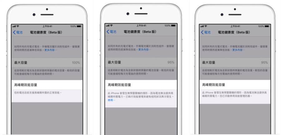 蘋果替電池老化的iPhone加入的降速功能,遭到消費者反彈。如今,總算在IOS 11.3當中推出可手動關閉降速功能的選項。(圖/翻攝蘋果官網)