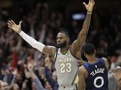 NBA》助攻榜史上第11 詹皇的里程悲