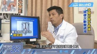 《人體實驗室》「自然孔腹腔鏡手術」切大腸 腸沾黏機率減一半