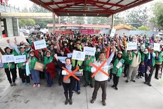 國家清潔周 張花冠呼籲整理環境迎接台灣燈會