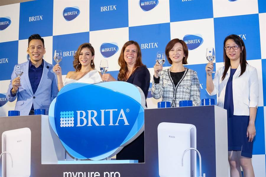BRITA專為台灣水質設計超微濾專業淨水系統,台灣搶 先全球首賣。蘇蔓攝