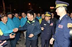 有您真好!林佳龍慰問中市警第六分局警民力