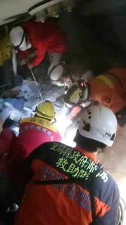 花蓮震災救人任務進入尾聲  宜蘭搜救隊收隊返家待命
