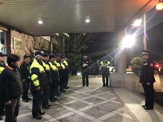 春安工作啟動 中市警局副局長張春波赴山區慰問員警