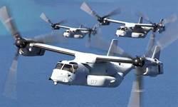 美軍飛機又掉零件 MV-22魚鷹機引擎罩脫落