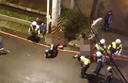 影》毒品通緝犯開車撞警拒捕 10警共開26槍制伏