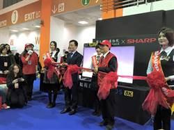 故宮攜手臺灣夏普    打造世界第一8K博物館