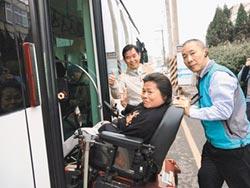 試乘811電動公車 身障者滿意