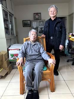 台中市文化局長王志誠探訪帕金森症詩人白萩