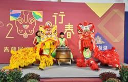 台中文創園區行春 傳統藝術文化展演熱鬧過年