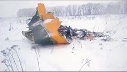 俄客機墜毀莫斯科郊 71人全罹難