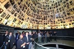訪猶太人大屠殺紀念館 林佳龍盼訂人權教育法
