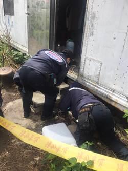 人間悲劇 身障男獨居貨櫃屋 摔破頭失血過多身亡