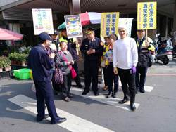 維護春節市區交通 台中市警二分局強宣導