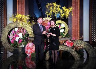 2018臺灣國際蘭展蘭花商機發酵 入口意象布置競賽晶英酒店奪冠