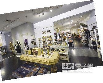 大英木乃伊特展紀念品商店一隅。