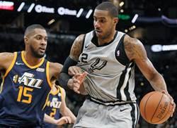 NBA》馬刺大勝魔術36分 西區排名仍在八強外