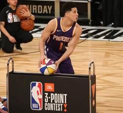 NBA》戴文布克好準!三分球大賽破紀錄稱王