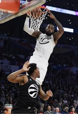 NBA》詹皇帶領詹姆斯隊逆襲柯瑞隊 第3度榮膺MVP
