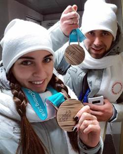 剛攜手摘下冰壺銅牌 「冬奧版裘莉」老公疑使用禁藥