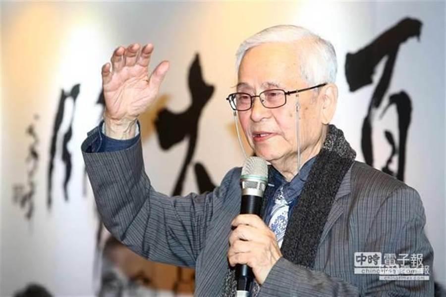 新聞耆老鄭貞銘教授於今日下午病逝,享壽82歲。(中時資料照)