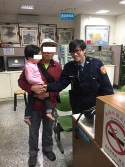 家戶訪查遇迷童  警主動關懷助返家