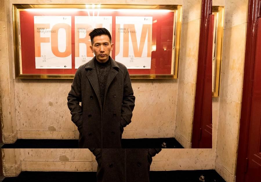 趙德胤於柏林影展參加《十四顆蘋果》世界首映。(岸上影像提供)