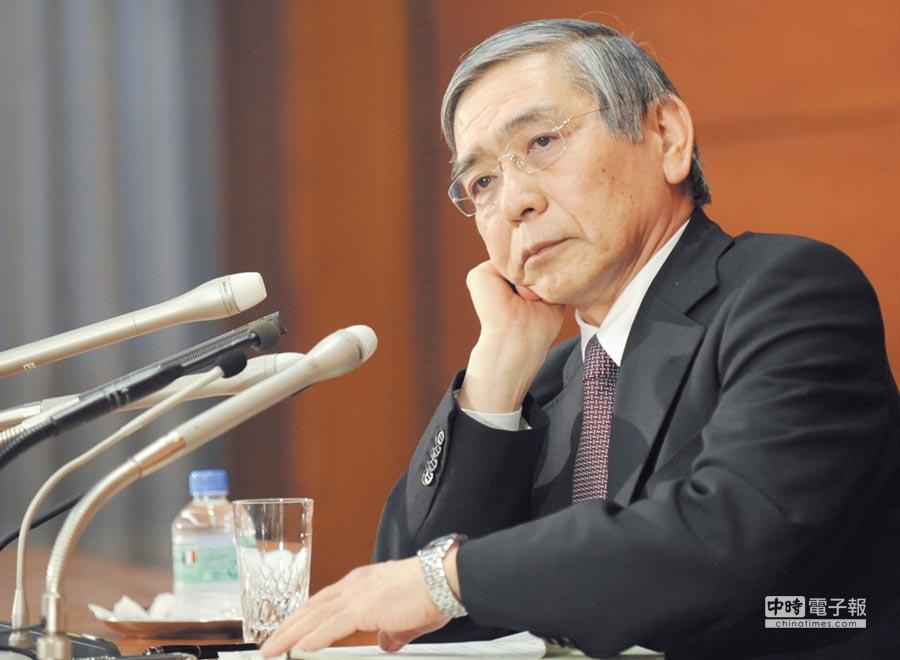 日本政府上周提名黑田東彥連任日本銀行總裁圖/新華社