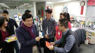 民進黨開工發千元紅包 洪耀福:今年選舉大家很辛苦