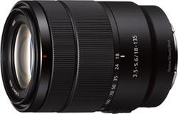 Sony E 18-135mm F3.5-5.6 OSS APS-C 鏡頭 擁卓越光學設計