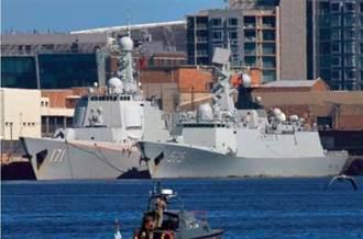 印度洋擺三角陣 陸艦隊強壓地頭蛇