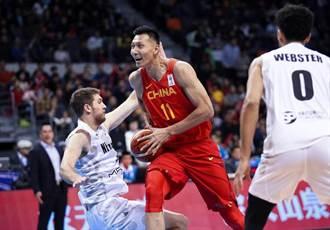 世界盃男籃》易建聯孤掌難鳴 中國不敵紐西蘭吞首敗